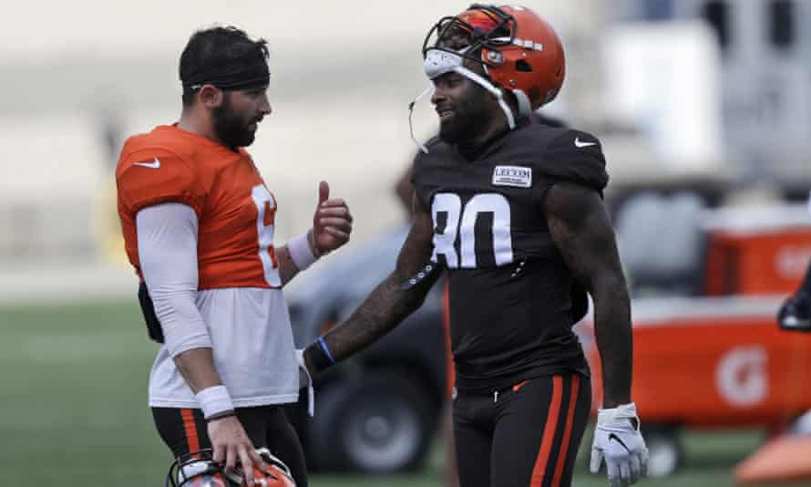 Baker Mayfield and Jarvis Landry's Browns are in their first playoff game in 18 years