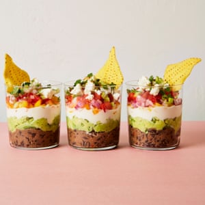 Yotam Ottolenghi's rainbow-layered bean dip