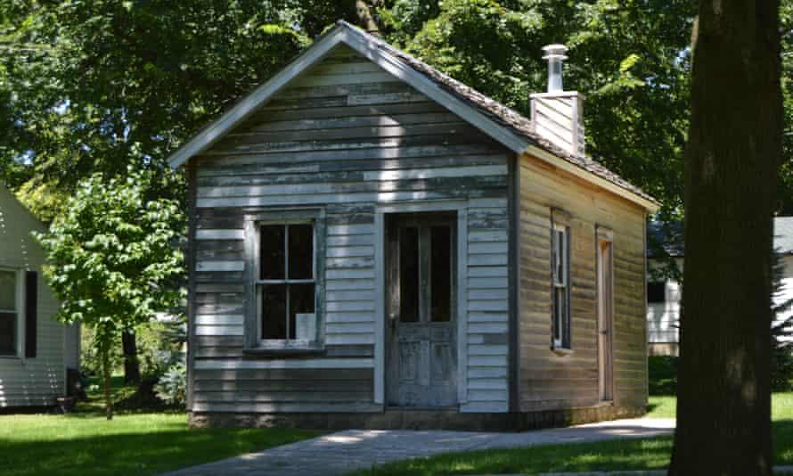 Albert Cashier's home in Saunemin, Illinois.