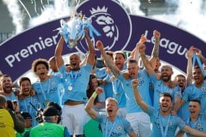 Manchester City, Premier League champions.