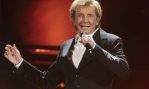 Barry Manilow singing
