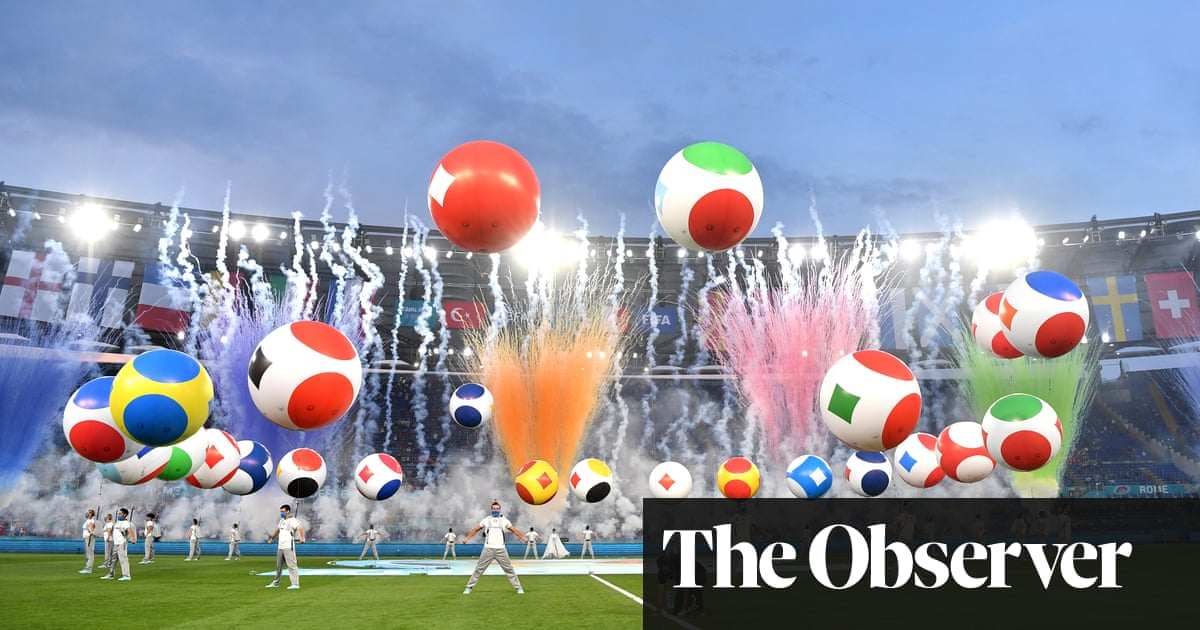 Euro 2020 on TV: calm start for BBC but for Savage dig at Boris Johnson