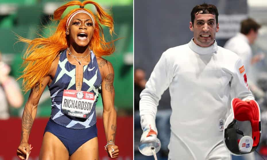Sha'Carri Richardson and Alen Hadzic have been much discussed in the early stages of the Olympics