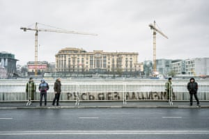 <strong>'Rus without Nazi'</strong><br><br><em>Rossiyane </em>means all Russian citizens and <em>russiky</em> refers only to country's largest ethnicity. The country itself can be translated either as <em>Rossiya </em>or <em>Rus</em>