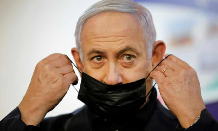 "Benjamin Netanyahu has promised the country will be the first to ""emerge"" from the pandemic if they cooperate."