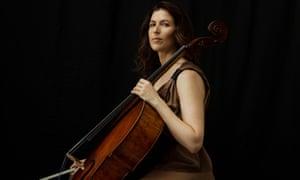 Vivid projection ... the New York-based cellist Inbal Segev.