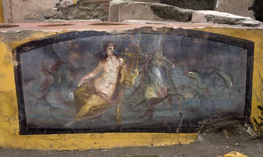 The nymph fresco