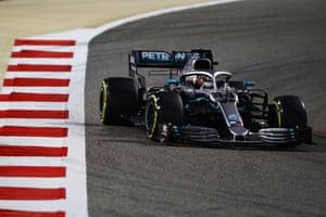 Hamilton moves into the lead.