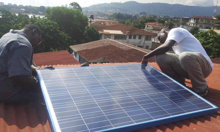 BBOXX solar panel
