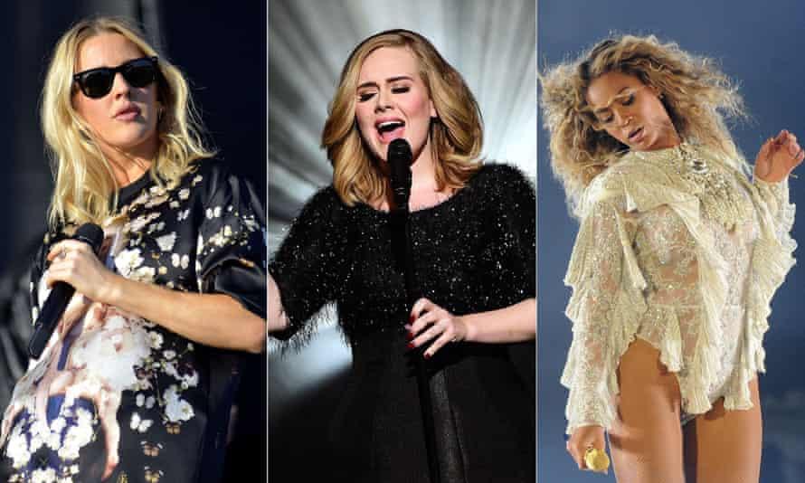 Ellie Goulding, Adele and Beyoncé all had hits written by Ryan Tedder.