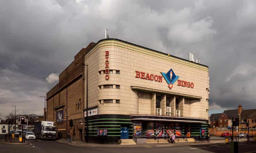 Loughborough Odeon cinema building.