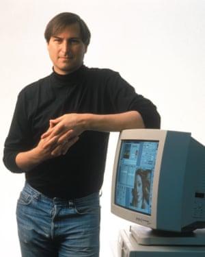 Steve Jobs in 1994.