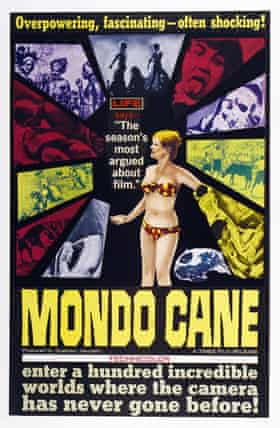 The original … Mondo Cane's video sleeve.