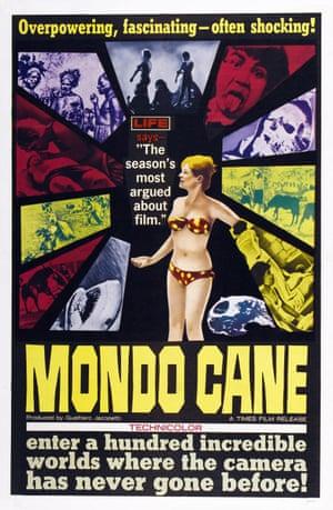 The original … Mondo Cane's video sleeve.