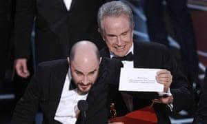 La La Land producer Jordan Horowitz reveals the real Best Picture winner