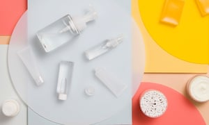 A selection of beauty products
