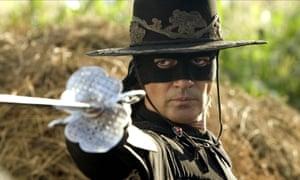 Antonio Banderas in The Legend of Zorro, from 2005,