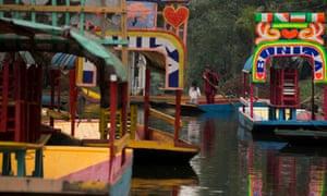 Canals of Xochimilco, Mexico City