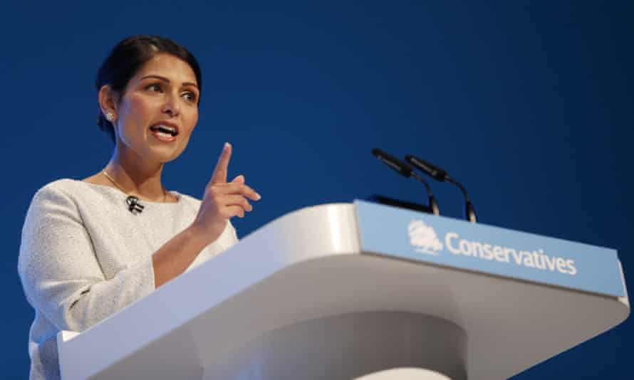The home secretary, Priti Patel, has recently attacked 'lefty lawyers'.