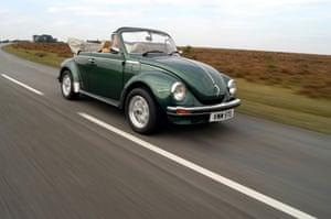 A 1978 Volkswagen Beetle.