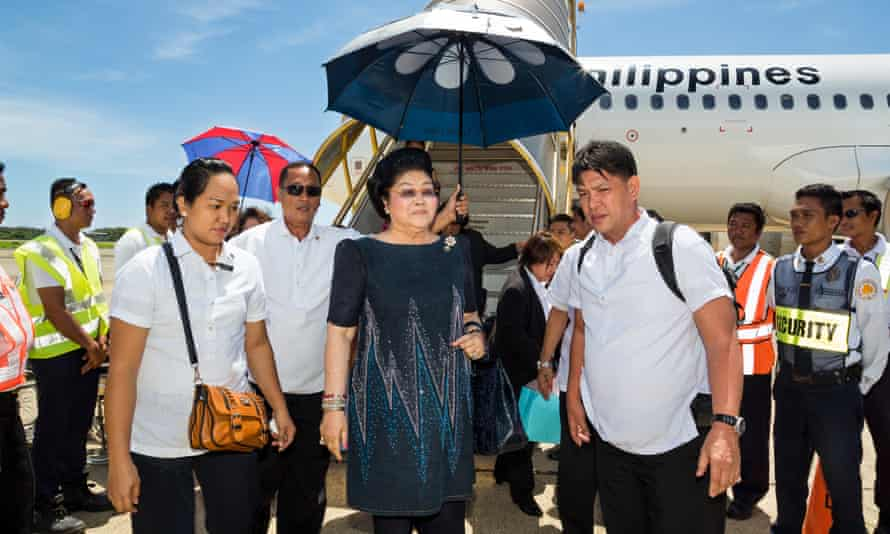 One of the most purely objectionable figures anywhere in the world … Imelda Marcos.