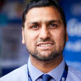 Headteacher Naveed Idrees