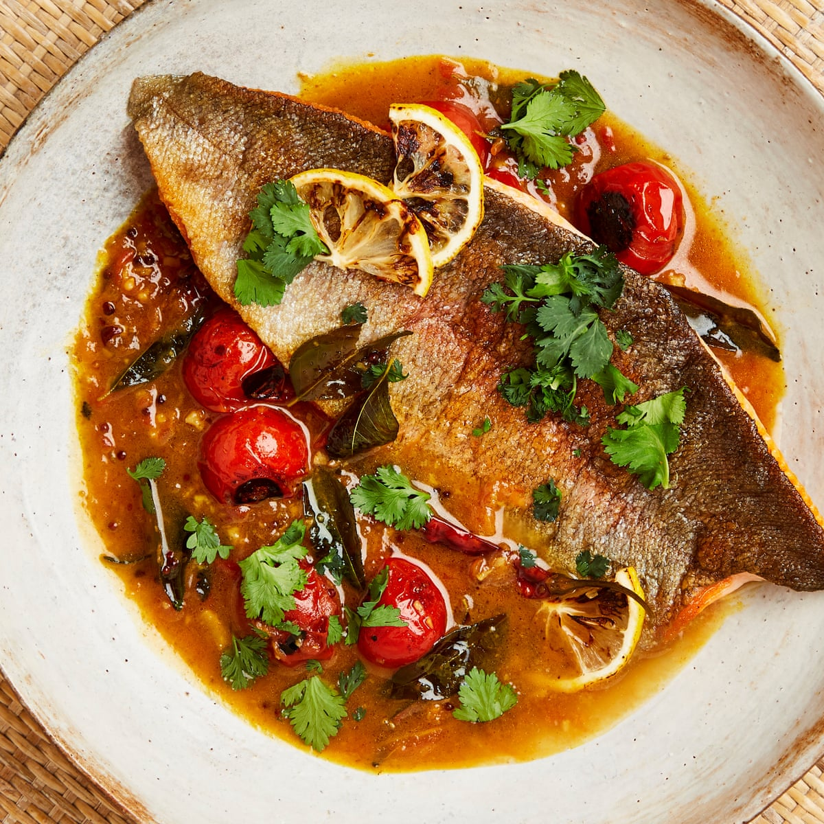 Yotam Ottolenghi S Spicy Fish Recipes Food The Guardian