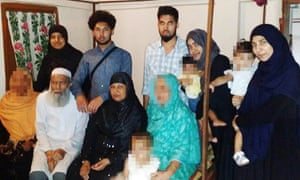 The 12 members of the Mannan family who moved to Syria