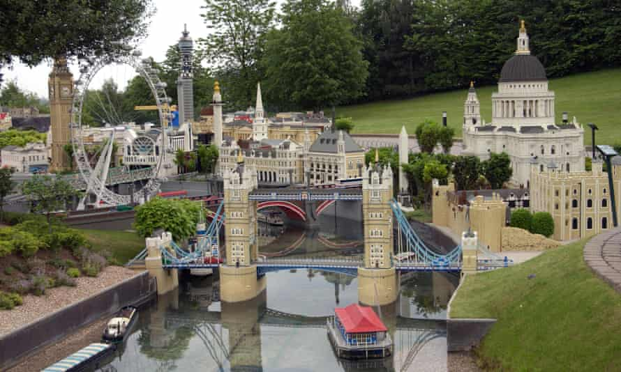 Little London … one of Legoland's perennial attractions is the Miniworld model village.