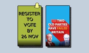 Election Social Media - Snapchat