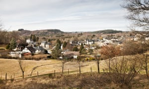 The village of Bugeat in Corrèze, central France.