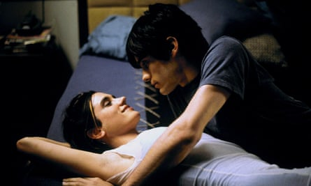 Jennifer Connelly and Jared Leto in Requiem for a Dream.