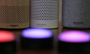 Amazon's smart speakers