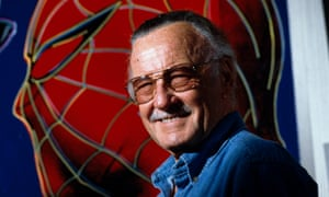 Superpowered storytelling ... Stan Lee in the 1990s.