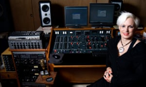 Up for an award … sound engineer Mandy Parnell.