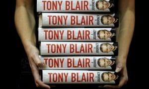 Tony Blair's autobiography