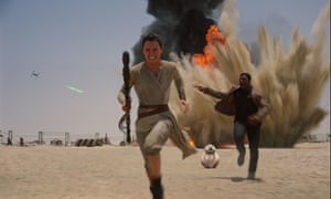 It lacked the innovative visual imagination of the original films, says James Cameron. What do you think? Star Wars: The Force Awakens.