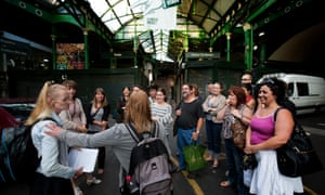 Unseen Tours offer tours of London led by homeless people