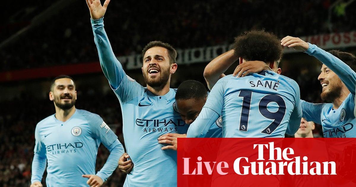 d005c5845 Manchester United 0-2 Manchester City  Premier League – as it happened