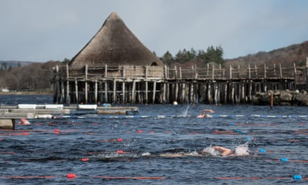 Stay in your lane: Loch Tay is excellent for endurance training.