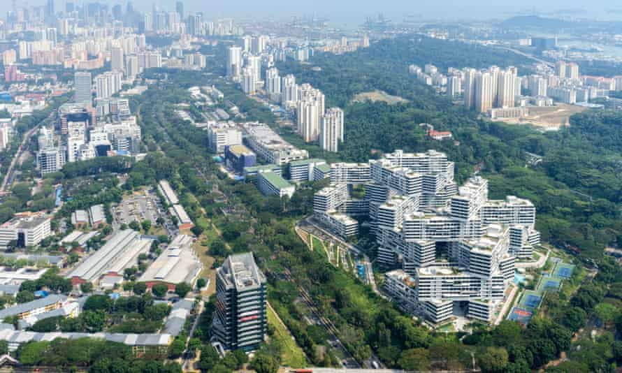 Singapore, where most the population rents from the government.
