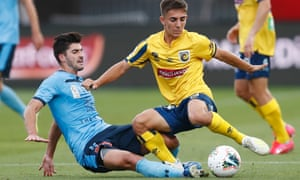 A-League, Central Coast v Sydney FC