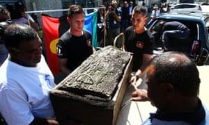 Mungo Man's remains