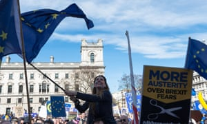 Anti-Brexit rally in London, March 2017.