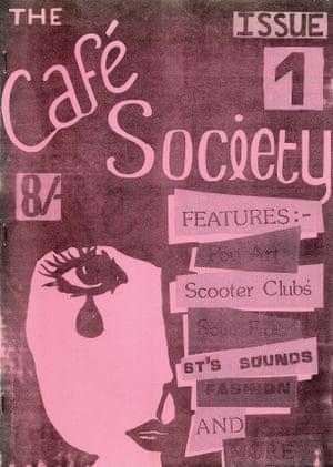 Modzine fanzine The Cafe Society, Issue 1, Liverpool, 1983.