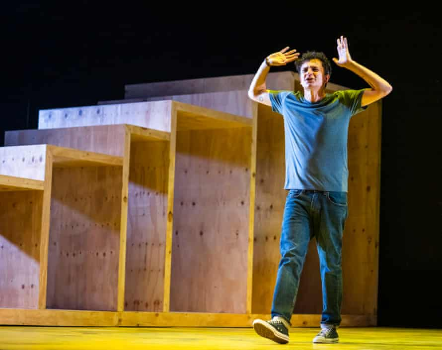 Tom Mothersdale in Blue Water and Cold and Fresh by Simon Stephens with Emmanuella Cole.
