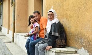 Rami Alshakarji and Suhila Ayiad with their daughter Quds
