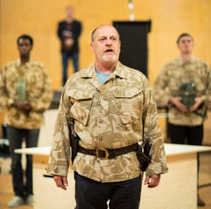 David Troughton plays Titus Andronicus.
