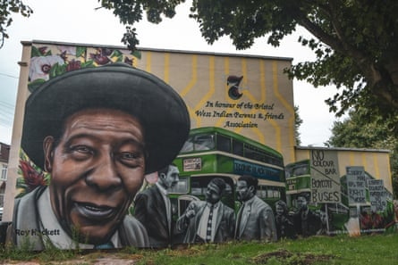 A mural in Bristol honours Hackett and the other leaders of the boycott