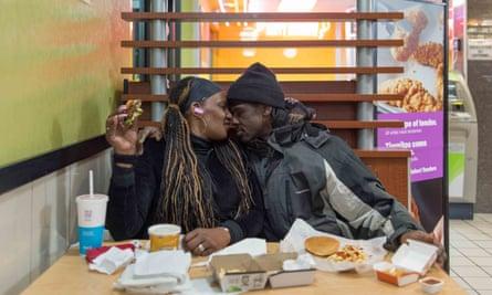 Takeesha and Steve, Bronx, New York.